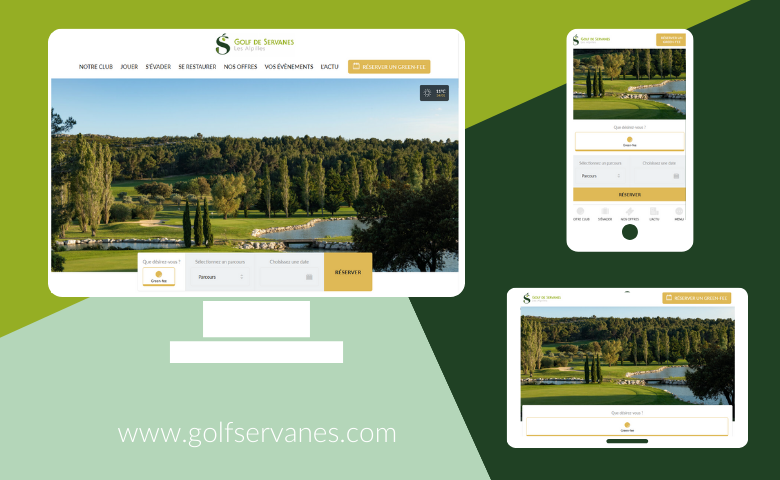 Le site Golf de Servanes fait peau neuve ! - Open Golf Club