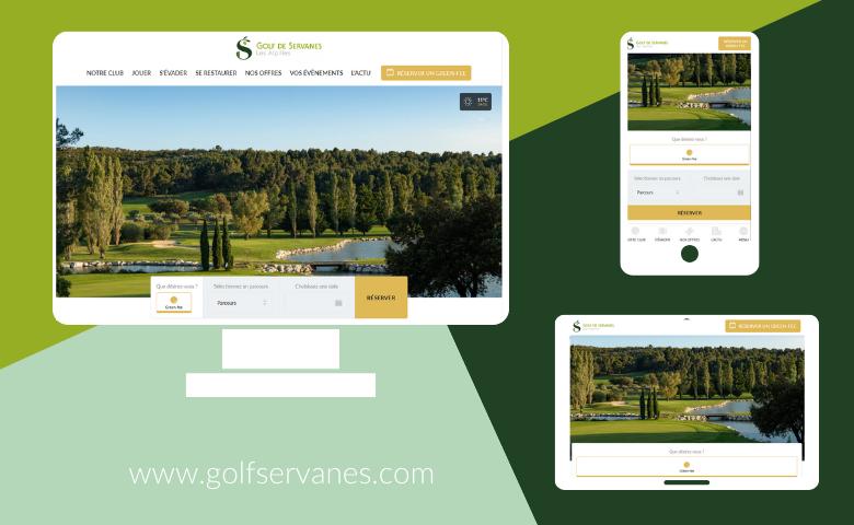 The Golf de Servanes website has a brand new look! - Open Golf Club