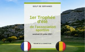 Back on competition at Golf de Servanes on July 23th - Open Golf Club