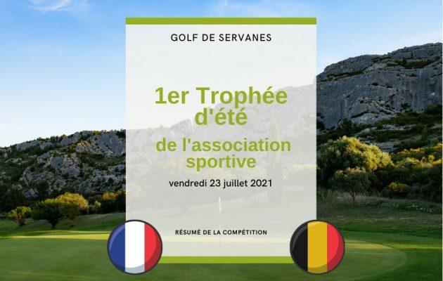 Back on golf compétition - July 23th