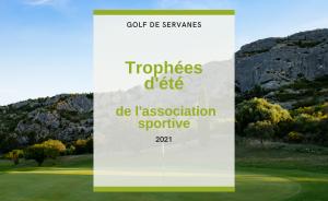 Trophées d'été 2021 au Golf de Servanes - Open Golf Club